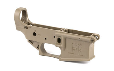 FMK AR15 POLYMER LOWER RECEIVER FDE - for sale